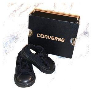 Converse Infant Black Monarch Shoes